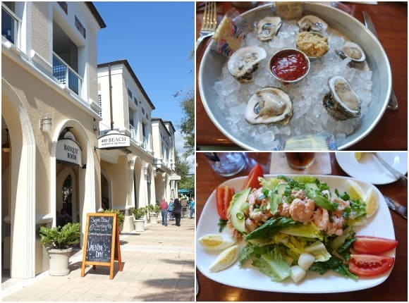 400 Beach Seafood Tap House in St. Petersburg with wonderful seafood selections