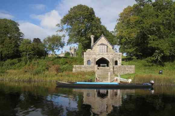 Crom Castle Boathouse (Image: Crom Castle