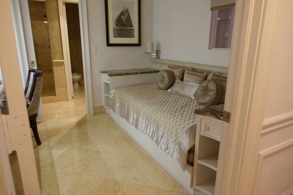 One Bedroom Ocean Front Room Day Bed at Acqualina Resort