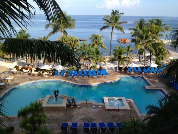 Pool Area photo courtesy of Key Largo Bay Marriott Resort