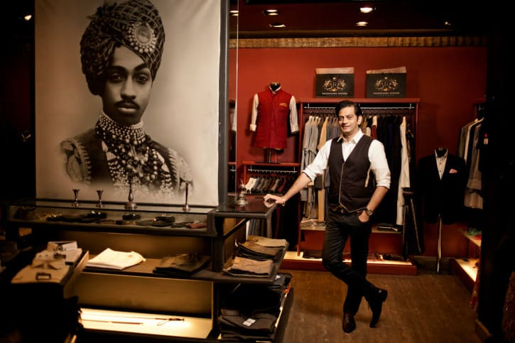 Prince Raghavendra Rathore of Jodhpur Launches Menswear Line in UK
