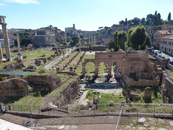 Ruins in Rome