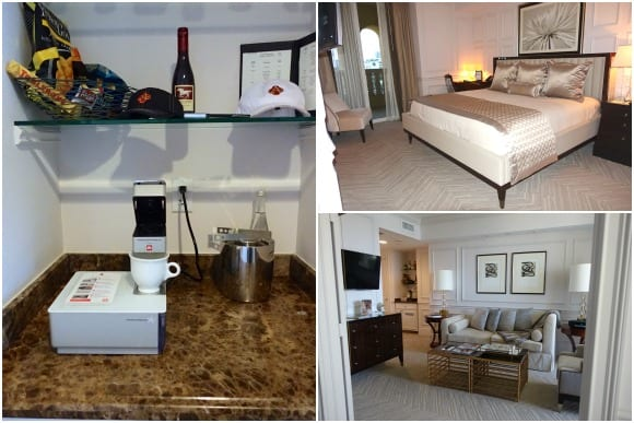 Two Bedroom Ocean Front Intracoastal side King Room at Acqualina Resort