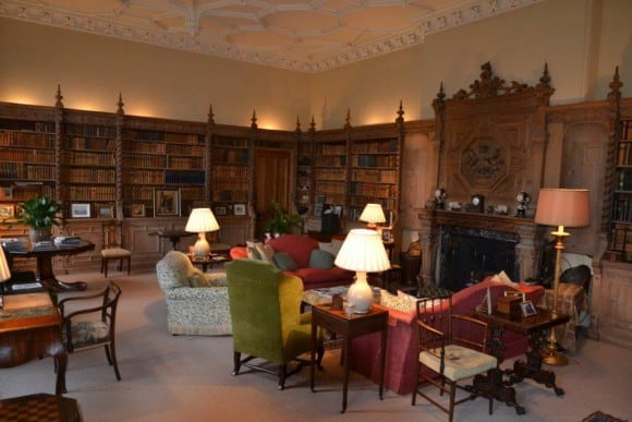 Crom Castle Library (Image: Crom Castle)