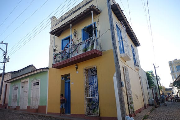 Example of a Casa Particular in Trinidad Cuba
