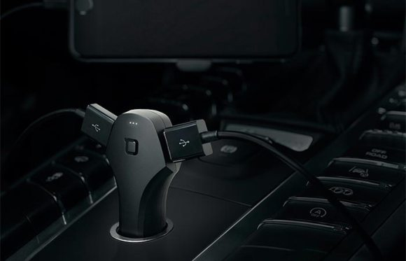 ZUS Smart Car Charger with Dual Chargers