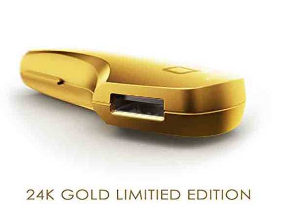 ZUS Smart Car Charger 24K Gold Limited Edition