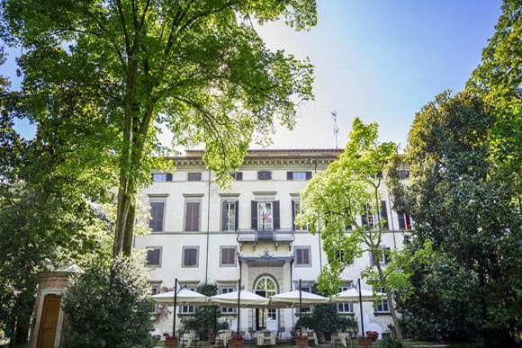Outdoor Dining Area at Hotel Villa La Principe's Lucca (photo Villa La Principessa)