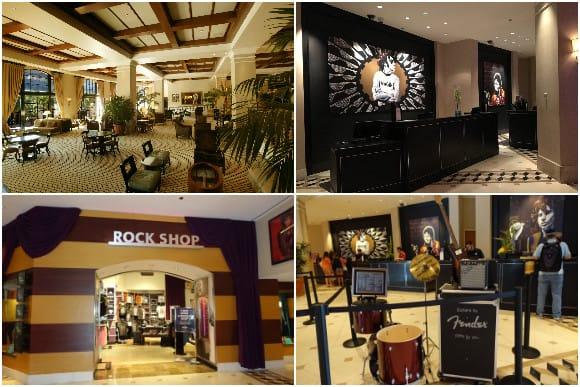Hard Rock Hotel Universal Orlando Lobby Area