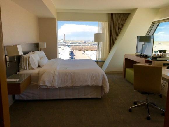 The Westin DIA - Junior Suite Bedroom Area