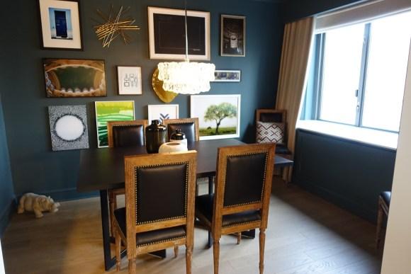 Nate Berkus Apartment Suite Dining Room - Loews Regency New York Hotel