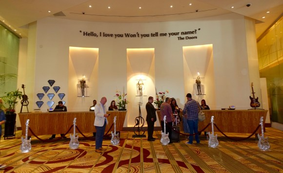 Reception Area at the Seminole Hard Rock Hotel & Casino Tampa