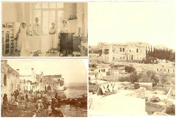 Old Photos of The Scots Hotel Tiberias Israel via The Scots Hotel