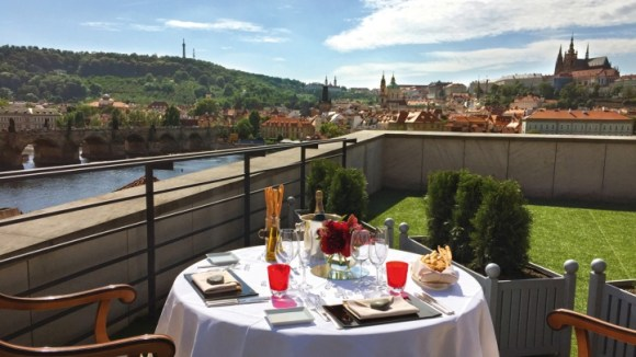 Terrace Image Courtesy of Four Seasons Prague