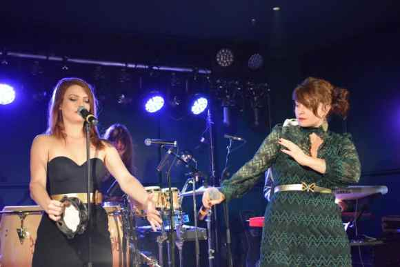 Nouvelle Vague performing at Le Meridien Vienna Grand Re-opening Party