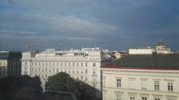 View of Vienna from the Executive City room window