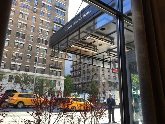 The Loews Regency Hotel Front Entrance