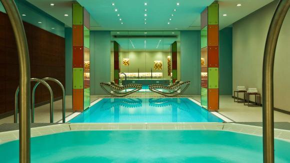 Pool Area / Photo by Le Méridien Vienna