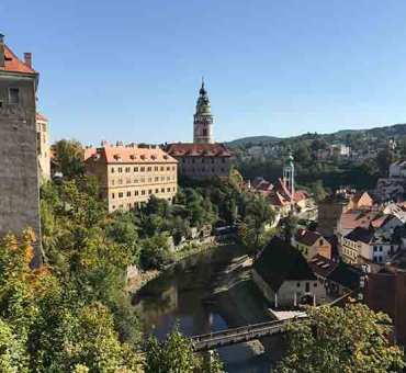 Cesky Krumlov Castle and it's Historical Town