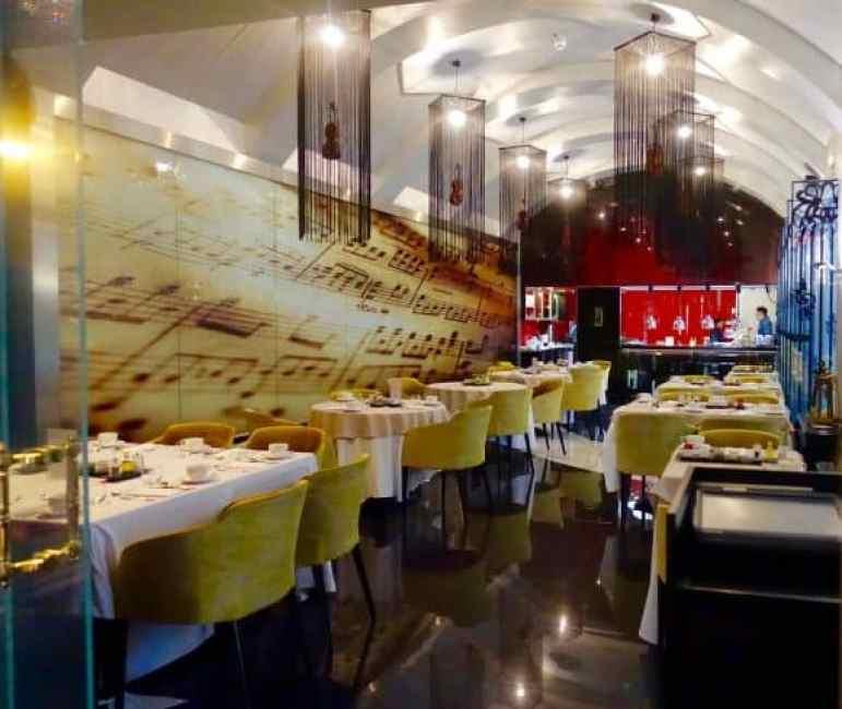 Stradivari Restaurant - Aria Hotel Budapest