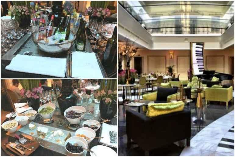 Aria Hotel Budapest - Wine & Cheese Reception