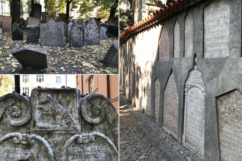 Jewish Cemetery Prague Graves