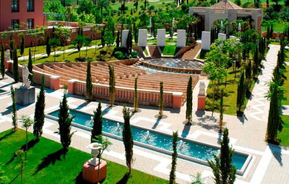 The Ala Amphitheater seating area - Image Villa Padierna Hotel Palace