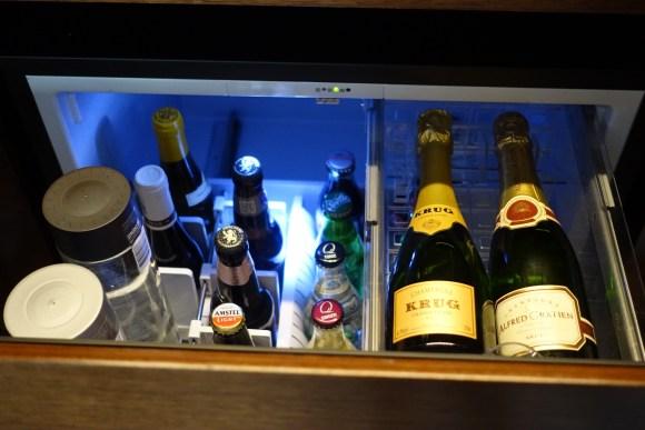 Mini Bar Drink Selections - Park Hyatt New York Park King Room