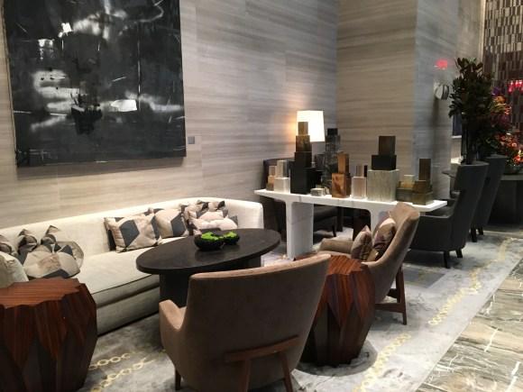 Park Hyatt New York - Lobby Reception Area