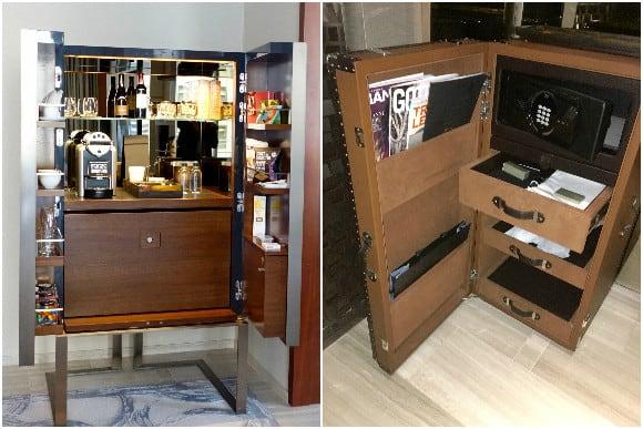 Mini Bar and Safe - Park Hyatt New York Park King Room