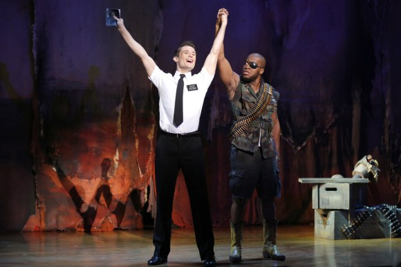 The Book of Mormon Courtesy of Eugene O'Neill Theater