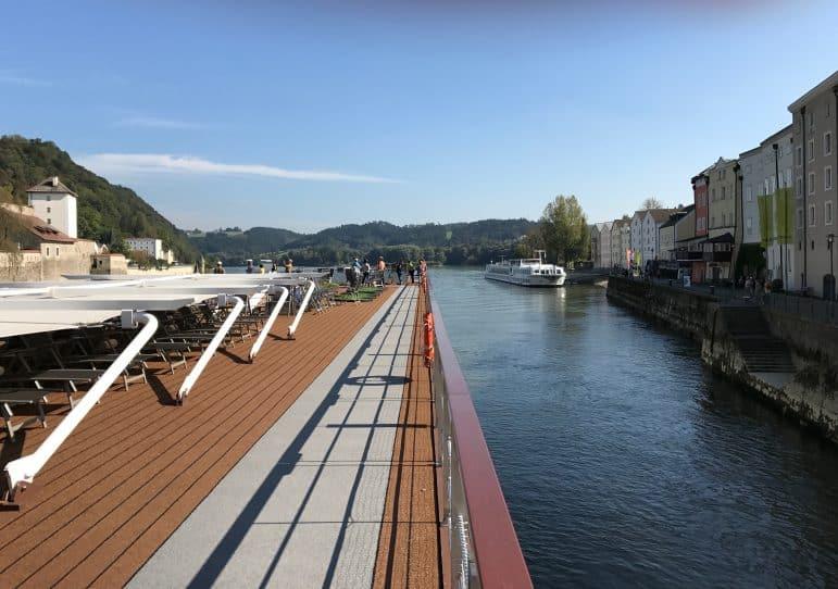 Top Deck - Viking Vilhjalm - Viking River Cruise