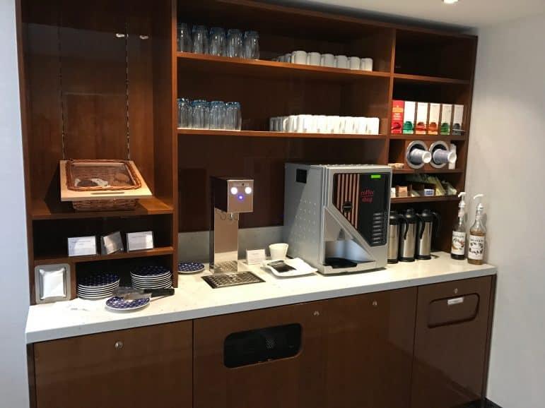 Viking Vilhjalm Coffee Station - Viking River Cruise