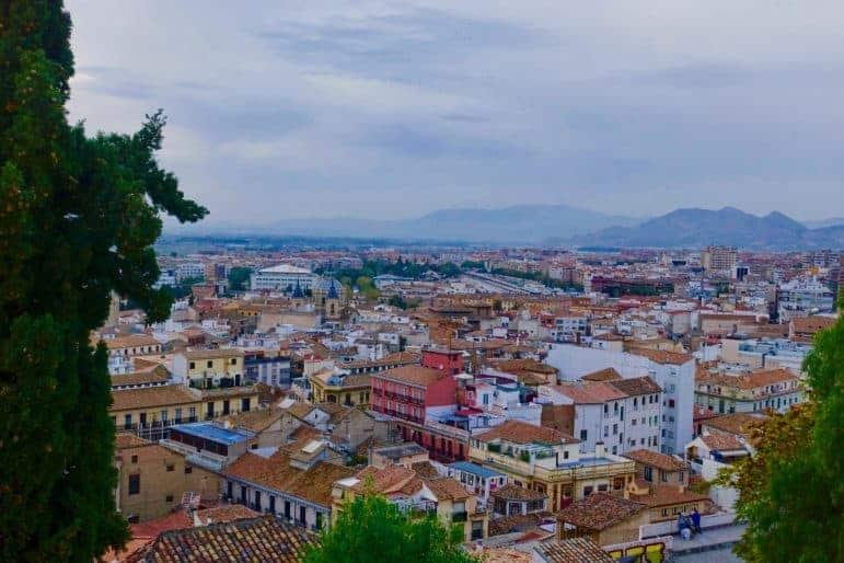 Albaícin neighborhood Granada Spain