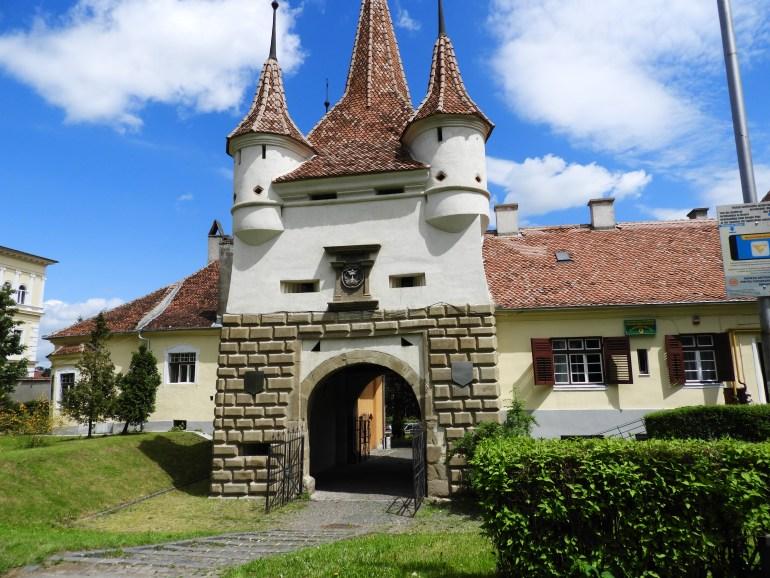 Town of Brașov Gate, Transylvania photo Carmen's Luxury Travel
