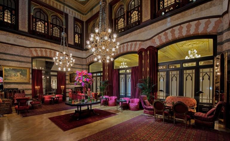 Kubbeli Saloon Tea Lounge - Pera Palace Istanbul