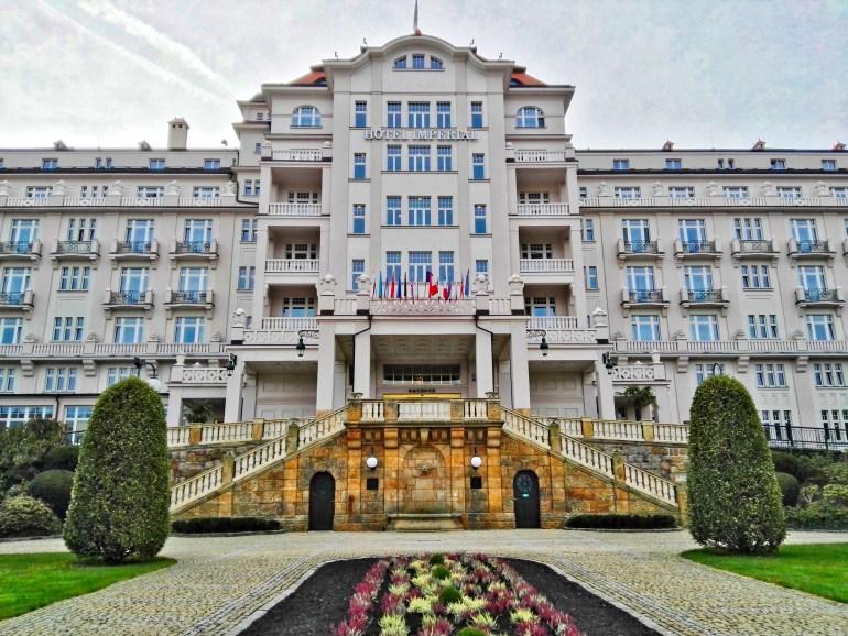 Hotel Imperial Spa & Health Club Facade - Karlovy Vary