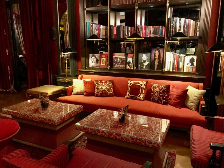 The Library Room - Pera Palace Istanbul