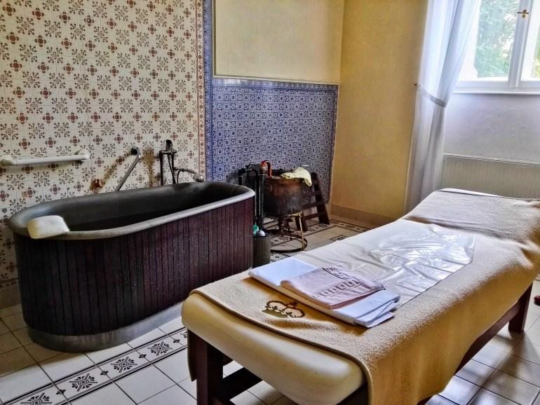 Nové Lázne Spa Treatment Room in Danubius Health Spa Resort