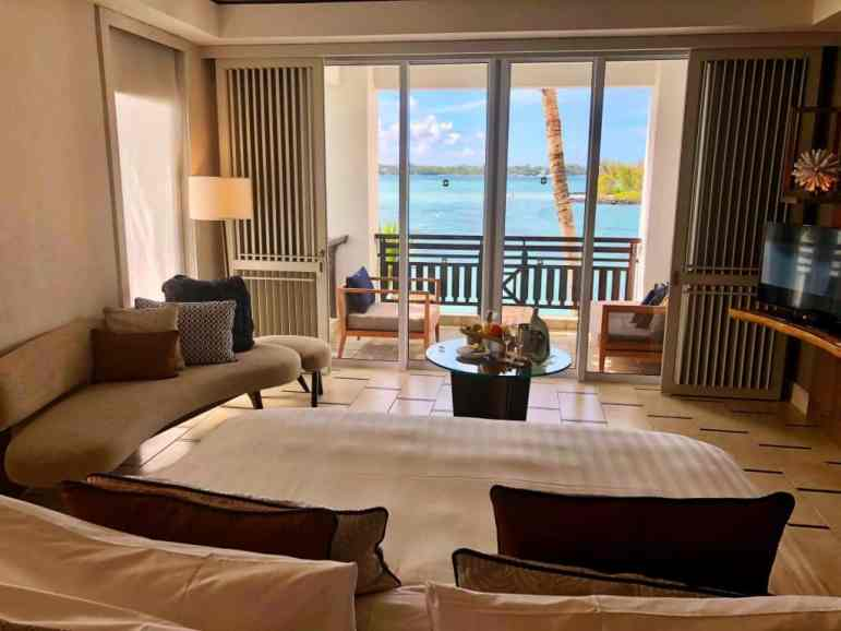 Frangipani Junior Suite Ocean View - Shangri-La Le Touessrok Resort Mauritius