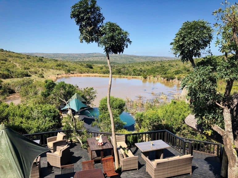 Kichaka Luxury Game Lodge Pool Area
