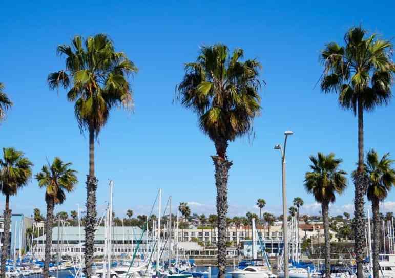 Redondo Beach Marina in Southern California