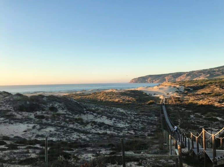 Guincho Beach Dunes, Portugal
