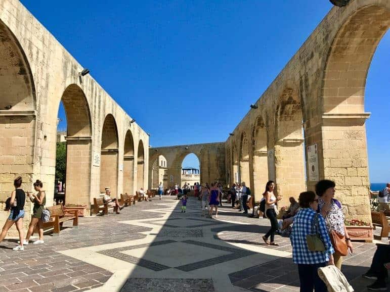 Upper Barrakka Gardens - Malta