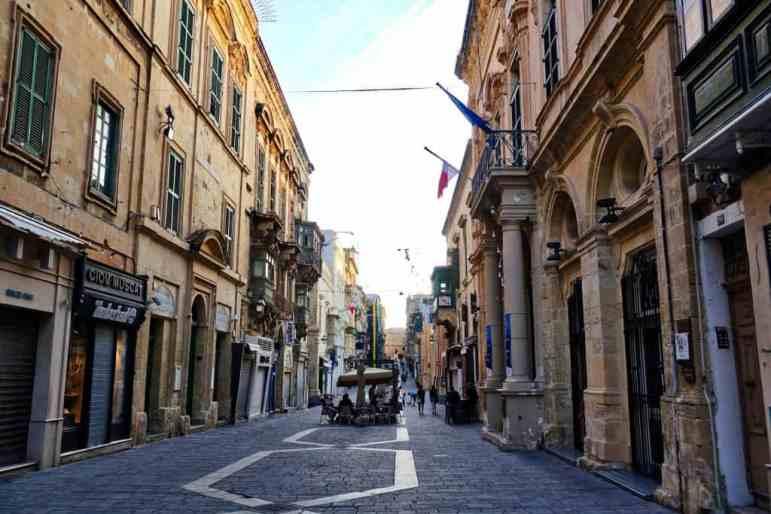 Streets of Valletta, Malta