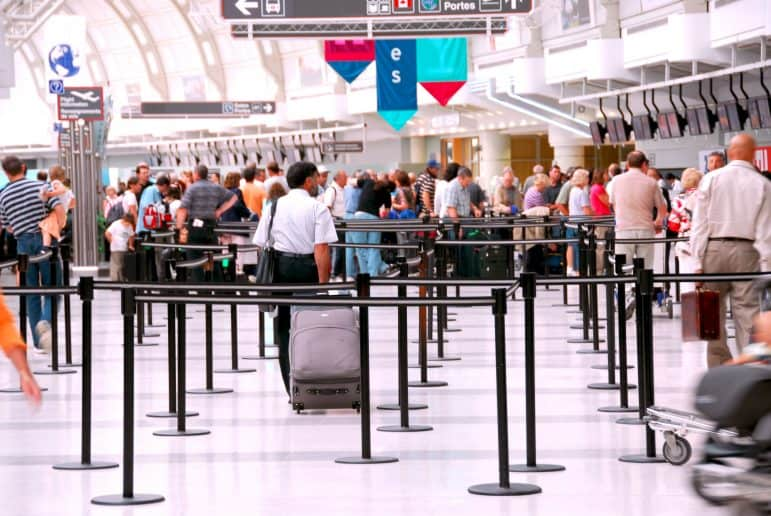 Airport Security Lines
