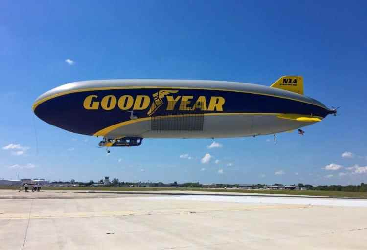 Soaring Over Fort Lauderdale on the Goodyear Blimp