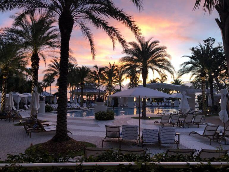 The Pool Area at Sunset - Playa Largo Resort & Spa, Autograph Collection, Key Largo