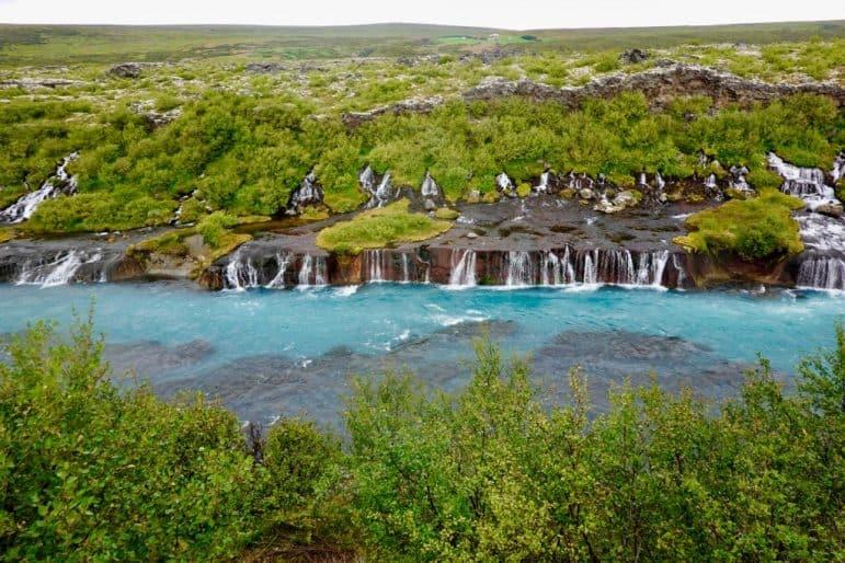 Barnafoss Waterfalls, Iceland