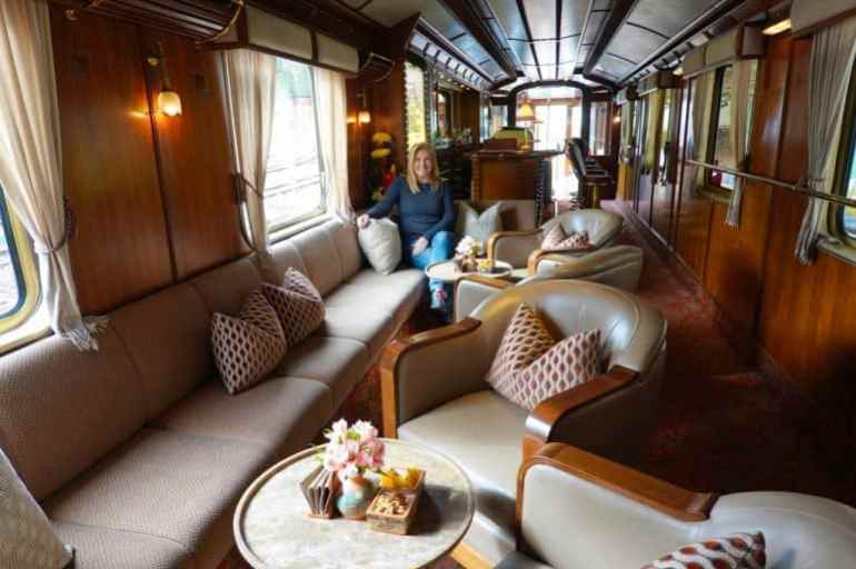 The Luxurious Belmond Hiram Bingham Train to Machu Picchu
